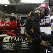 Pastor Maldonado and Romaim Grosjean have already been fitted for the car
