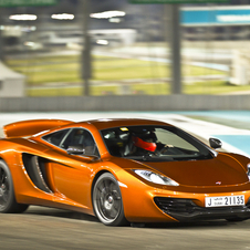 As part of the opening, McLaren created a film of the MP4-12C around the Yas Marina circuit