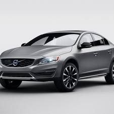 Tal como o V60 Cross Country, o novo S60 Cross Country recebe uma distância ao solo superior de 65mm