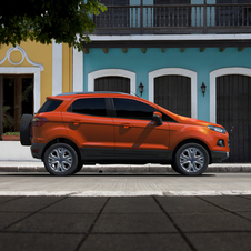 The EcoSport is one of Ford's fastest selling cars in India ever