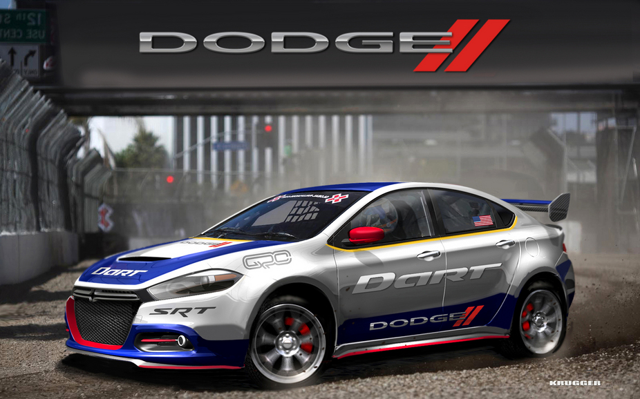 Dodge Dart and Travis Pastrana Enter Global RallyCross Championship