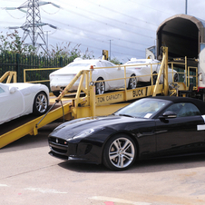 The first F-Types for the public shipped out of the Jaguar factory on May 9