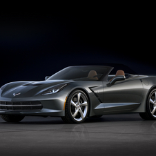 The new Corvette Convertible keeps the coupe's 6.2-liter, 450hp V8