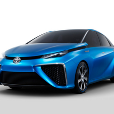 Toyota's hydrogen car will launch in 2015