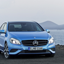 Mercedes sales were boosted thanks to the A-Class