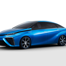 Toyota is building a hydrogen infrastructure there