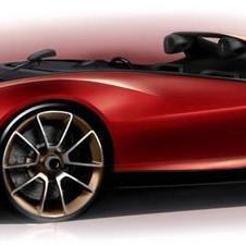 The Sergio deconstructs the roadster by doing away with the windshield and reinterpreting the roll bar
