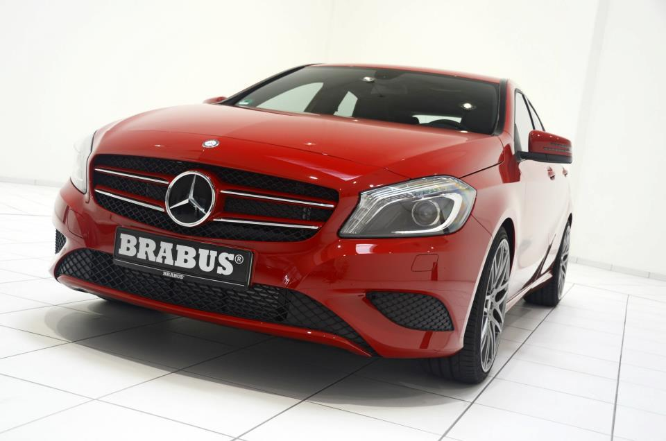 Brabus has a front spoiler for the car but it is not on sale yet