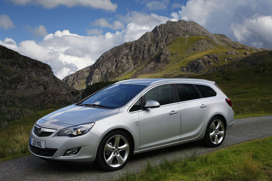 Vauxhall Astra Sports Tourer 1.6 Exclusiv (Auto)
