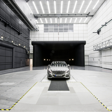 Mercedes claims that it is the most advanced wind tunnel in the world