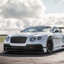 Bentley plans to have the car on track at the end of 2013