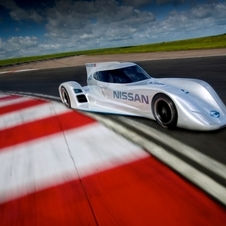 The car is designed by Ben Bowlby, the man behind the Deltawing