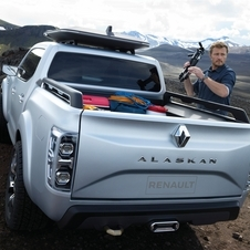 Alaskan is equipped with a 2.3-liter turbodiesel engine with 165hp