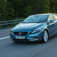 The V40 is currently the smallest car Volvo builds