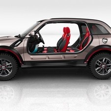This is how you should think of the future of Mini. It is a basic platform for BMW to modify
