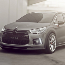 The DS4 Racing is the concept for a future hot hatch