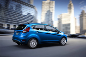 2011 Ford Fiesta most fuel-efficient car in its segment