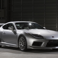 GRMN created this Sports FR Concept Platinum based on the GT86
