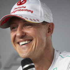 Schumacher has been fast this season but unable to finish most races