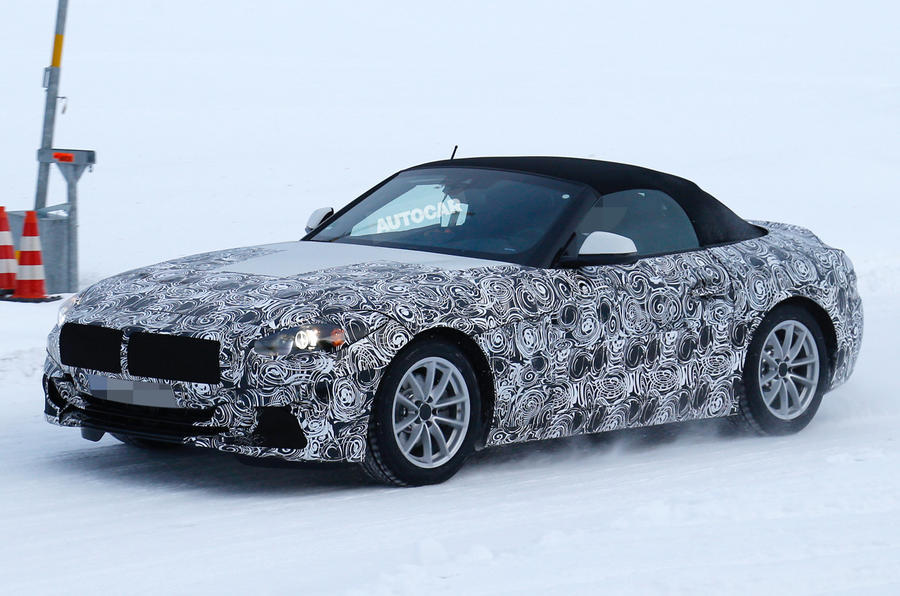 The new BMW Z5 should be unveiled at the end of 2017 or beginning of 2017