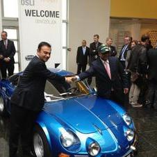 Alpine and Caterham are working together on the car