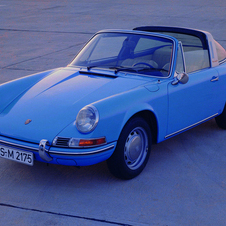 The Porsche Targa was introduced as a compromise for a convertible