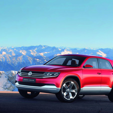 The Cross-Coupe concept was meant to indicate the direction for future VW SUVs