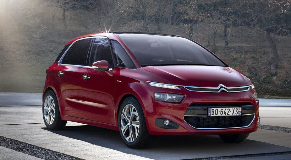 Citroën C4 Picasso Offers More Interior Room and Brand New Styling ...