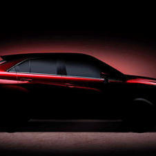 The new Mitsubishi SUV has a coupé-style shape
