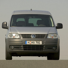 Volkswagen Caddy Maxi 1.9 TDI Van Entry