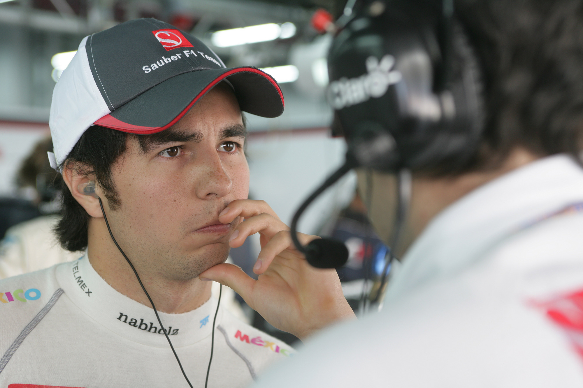 Perez is the same age that Hamilton was when he joined McLaren