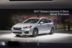 The new Impreza was developed around a new structure called Global Platform