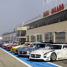 Mercedes SLS AMG GT3 Competing in 15 Race Series Around the World