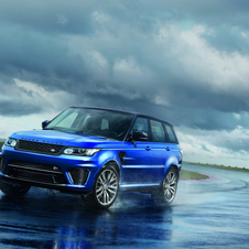 The Range Rover Sport SVR completied a lap in Nürburgring in 8 minutes and 14 seconds
