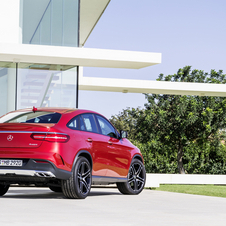 The GLE Coupé will be available as a diesel or petrol model