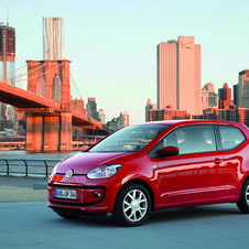 Volkswagen Up 1.0 cheer up! BlueMotion Technology