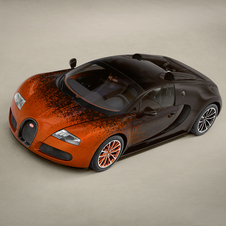 Bugatti will likely display the car in other places as well