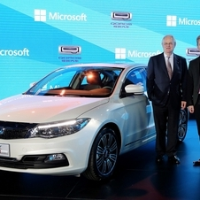 The Qoros will go on sale at the end of the year in China and in early 2014 in Europe