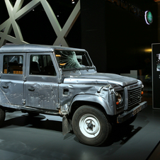 Land Rover Defender 130 Double Cabin Pick Up E