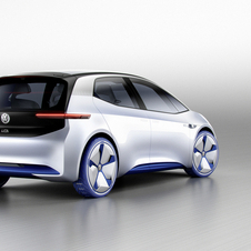 Volkswagen has equipped the ID concept with a 170 electric motor