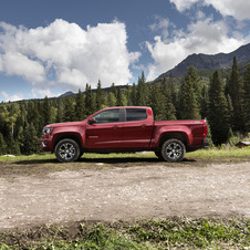 Chevrolet Colorado 3.6 WT Crew Cab 4WD