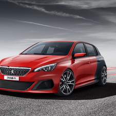 The 308 R shows Peugeots concept for a sportier version