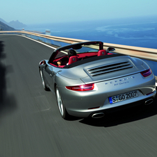 Porsche unveils Cabrio version of the new 911 generation