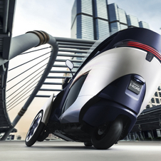The i-ROAD is just a concept for now
