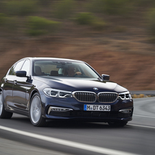 BMW 520d EfficientDynamics