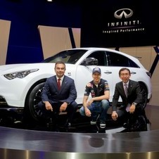Infiniti and Nissan have been courting Red Bull more and more over the past years