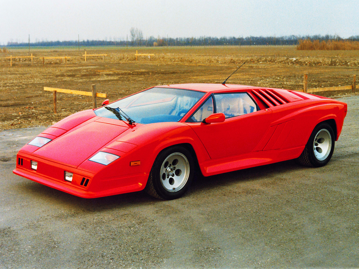 Lamborghini Countach Restyling Prototype Slideshow
