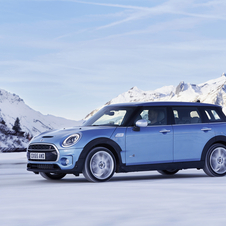 Only two of the engines of the Clubman will receive the ALL4 system on the release date: the Clubman S and Clubman SD
