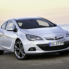 Opel Astra GTC 1.4 Turbo Active Select