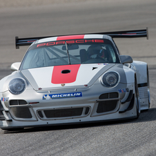 There are no changes to the engine because of balance of performance in the GT3 series